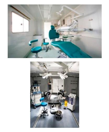 Hospitais móveis